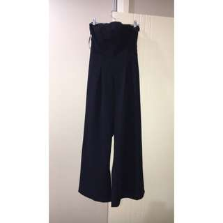 Rumour boutique strapless jumpsuit size 14