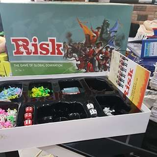RISK the game of global domination