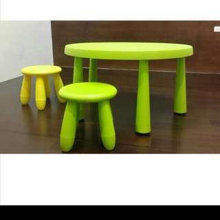 Ikea兒童桌