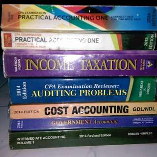 Accounting Books :Up for Grab