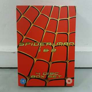 Spider-Man 1 & 2 - 4-DVD Box Set [BNIB]