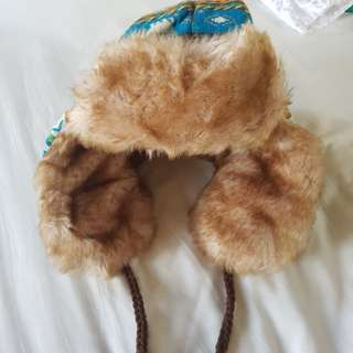 Winter Hat Size 10-12 Year Old