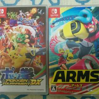 Switch Games Pokken Poke拳 Arms