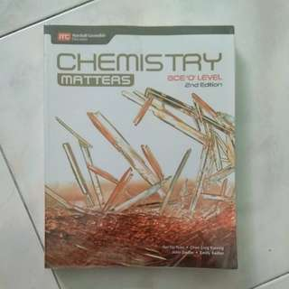 CHEMISTRY MATTERS OLEVEL TEXTBOOK
