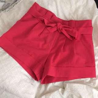 ASOS hot pink shorts size 8