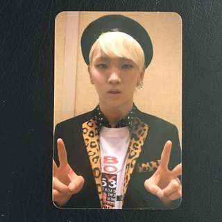 (WTS) SHINee Key Misconception of Us Photocard