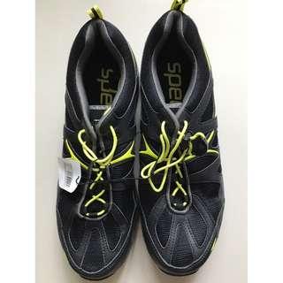 Speedo Men's Hydro Comfort 4.0 Water Shoe-Black & Yellow (Free Shipping)