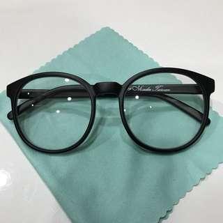 🚚 復古 圓框眼鏡 台灣製 霧面黑 細框 學院風 韓風 基本款 百搭