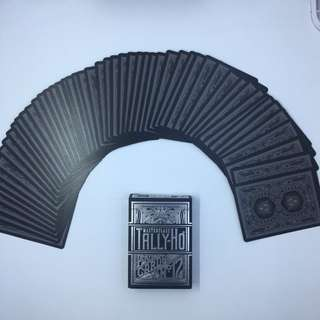 Tally-Ho Master Class Playing Cards [Black Edition]