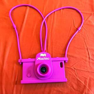 Camera Moschino Case iPhone 6/6s
