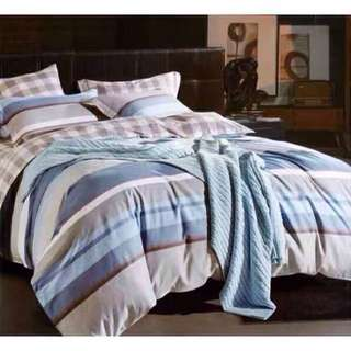 Bedtime Korean Cotton Bedsheets 4 in 1