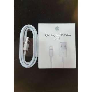 🚚 2米保固一年,保證Apple原廠傳輸線(2m) iPhone 充電線