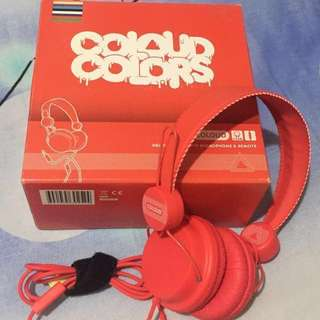 COLOUD COLORS Headphones with microphone & remote