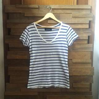 😍 Zara Premium Breton Stripe Shirt S/M