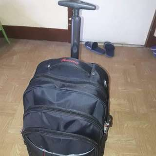 2in1 Trolly and Packbag in one