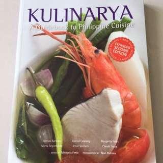 Cooking book Kulinarya Philippines (Filipino) Cuisines