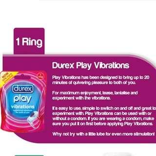 Du.rex play vibra ring 20min (Buy 2nd piece at 50% Off)