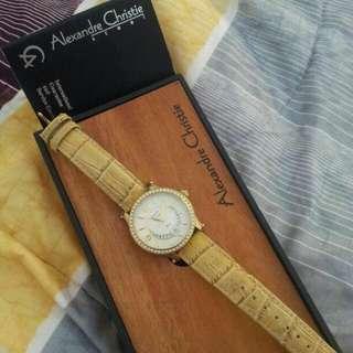 Jam tangan merk Alexandre Christie original 100%