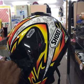 Shoei helmet