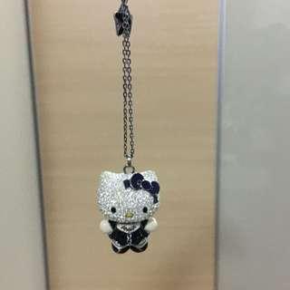 Hello Kitty necklace limited edition swarovski