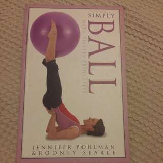 Simply ball with pilates principles.