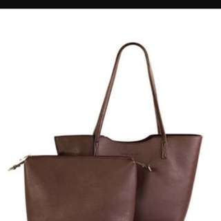 Authentic new with tag percy laureti Tote bag