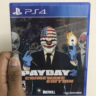 PS4 PayDay2 Crimewave Edition