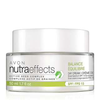 BNIB NutraEffects Active Seed Complex Balance Broad Spectrum SPF 15 Sunscreen Day Cream