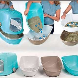 Stefanplast Furba Top Chic Cat Litter Box