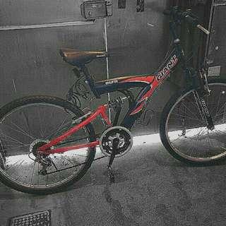 捷安特 giant 紅 腳踏車 自行車 單車 ds321 *有定期保養