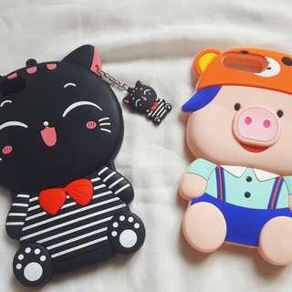 Case Iphone 6/7 plus kitty&piggy
