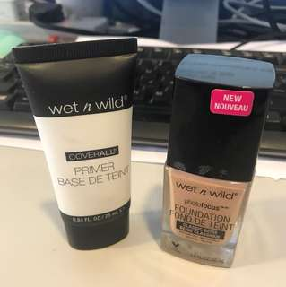 Wet N Wild foundation and Primer