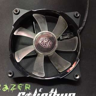 120mm Case Fan - Cooler Master with Red Red