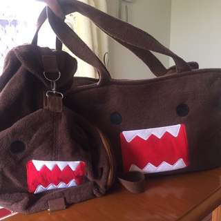 DOMO TOTE & BACKPACK