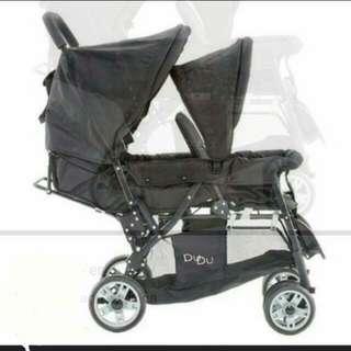 Dudu Twin Stroller