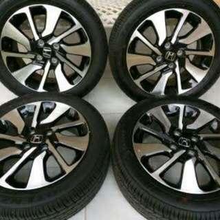 Velg Honda Brio OEM R15+ban