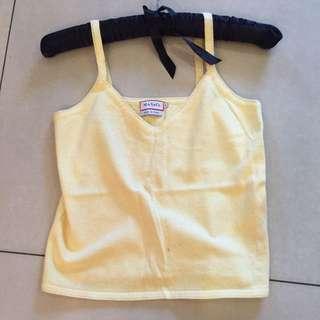 🚚 Max&co 嫩黃色上衣 size:s 含郵寄運費