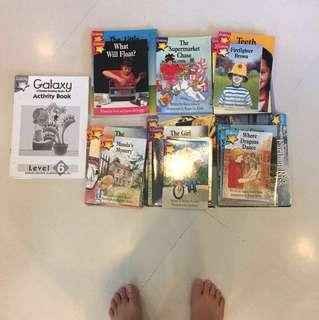Galaxy Primary school books (60 books)