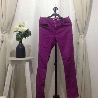 Auth H&M Youth Pants 12-13y Purple