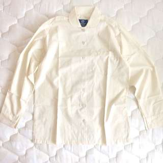 Cream Yellow Work/School Shirt