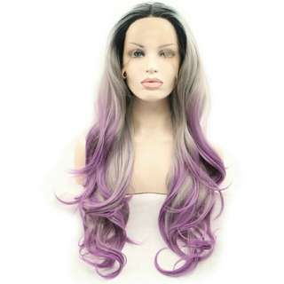Natural Heat Safe Synthetic Hair Lace Front Wig
