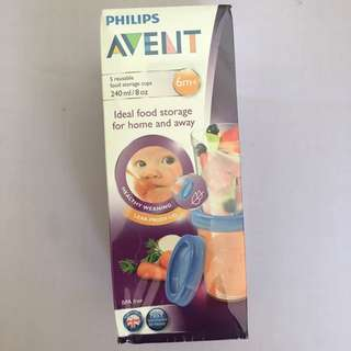 Repriced‼️BRAND NEW Avent Storage cups