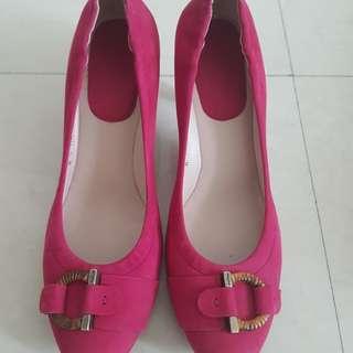 Salvatore Ferragamo Shoes (Velvet material)