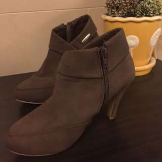 🚚 祼靴,咖啡色36號,有正常使用痕跡,不含運費,特價出清