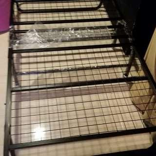 Preloved Metal Foldable Bed Frame