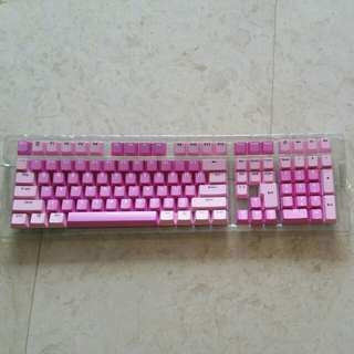 Mechanical keyboard PBT dyesub doubleshot 110 key keycaps
