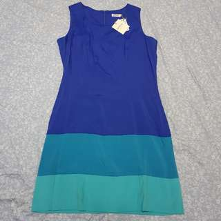 Arrow blue short casual or office dress