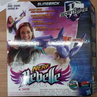 New Nerf Rebelle slingback