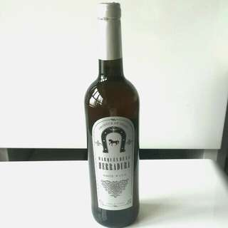 🍾🍺Herradura White Wine 2013
