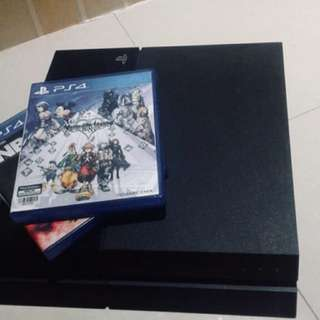 PS4 500gb with FREE GAMES